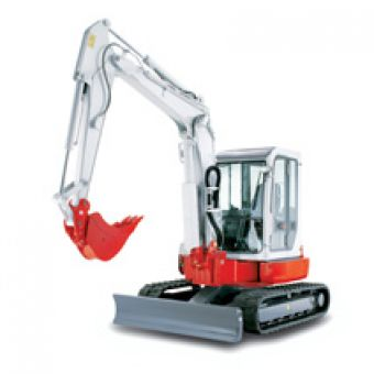 小型挖掘机